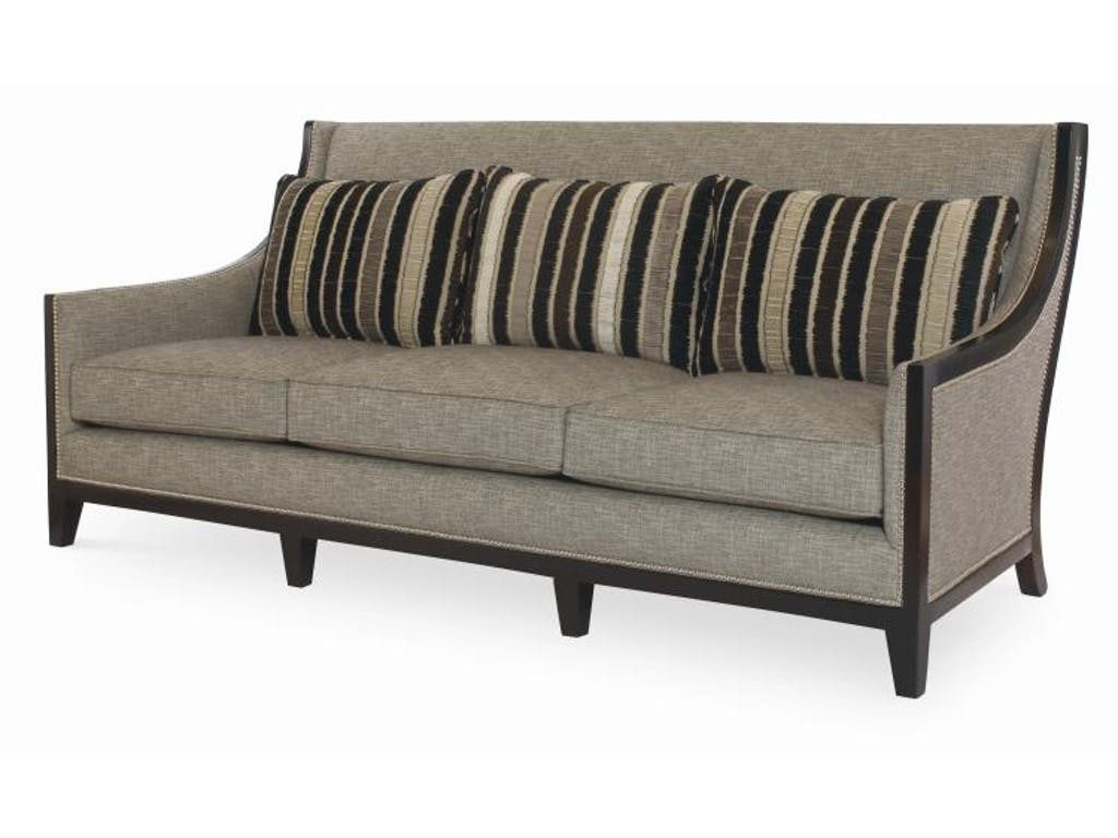 Century Signature Svelte Fabric Sofa in a neutral tone
